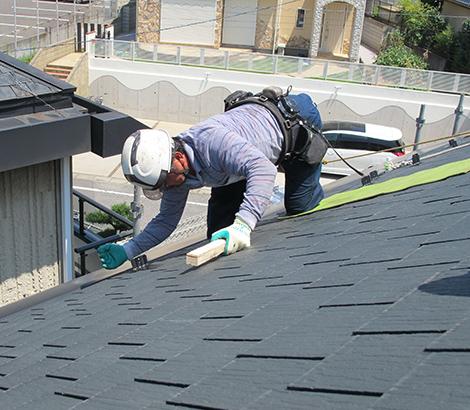 屋根工事画像